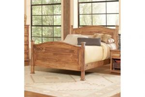Avalon Capella Full Bed with Headboard, Footboard, and Rails
