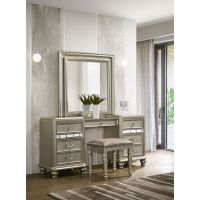 Avalon Kaleidoscope Vanity Set (Mirror, Base, Stool)