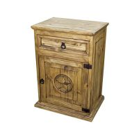 Avalon Lone Star Rustic Nightstand
