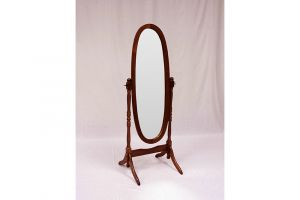 Crown Mark Cheveal Oval Mirror