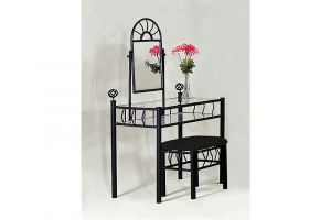 Crown Mark Foundry Black Vanity