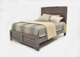 Crown Mark Bateson Bed with Headboard, Footboard and Rails