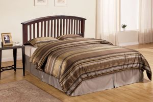 Crown Mark Lawson Bed with Headboard, Footboard, and Rails