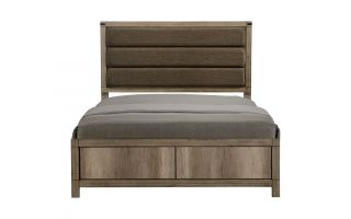 Crown Mark Matteo Bed with Headboard, Footboard, and Rails