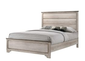 Crown Mark Patterson Bed with Headboard, Footboard, and Rails