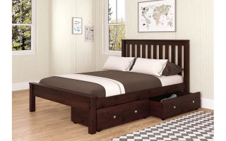 Donco Cappuccino Contempo Bed