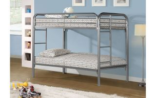 Donco Twin Over Twin/Twin over Full Metal Bunkbed