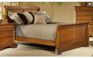 Elements Shenandoah Bed with Headboard, Footboard and Rails