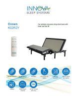 Innova Crown King 1 Piece Adjustable Bed