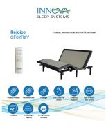 Innova Rejoice Adjustable Bed