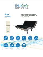 Innova Royal King 1 Piece Adjustable Bed