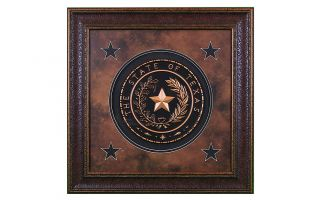 LMT Texas Seal Large Shadow Box