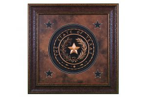 LMT Texas Seal Medium Shadow Box