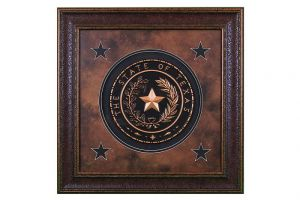 LMT Texas Seal Small Shadow Box
