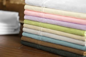 Malouf Brushed Microfiber Pacific Sheets
