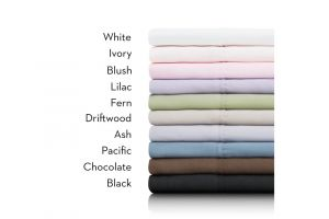 Malouf Brushed Microfiber Split Queen Sheets