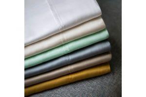 Malouf TENCEL White Sheets