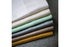 Malouf TENCEL Ivory Sheets