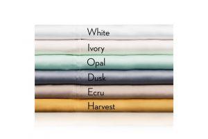 Malouf TENCEL Twin Sheets White