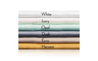 Malouf TENCEL Ivory Pillowcase