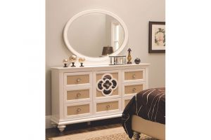 Najarian Paris Dresser Mirror Set