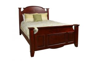 New Classic Drayton Hall Bed with Headboard, Footboard, and Rails