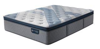 Serta iComfort Hybrid-Blue Fusion 4000 Plush Extreme Pillowtop
