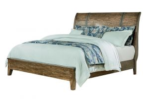 Standard Nelson Full Bed with Headboard, Footboard, and Rails