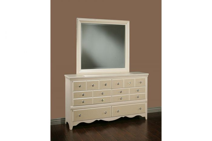 Sandberg Furniture Marilyn Dresser With
